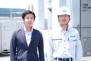 高い専門知識に基づく設備管理と保守で、「安心・安全」な環境を作ります。