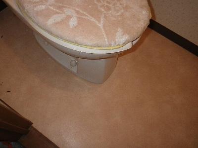 トイレ漏水